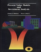 Present Value Models and Investment Analysis