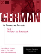 German for Business and Economics, Band 1, Die Volks- und Weltwirtschaft