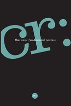 CR: The New Centennial Review 15, no. 2