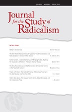 Journal for the Study of Radicalism 9, no. 1