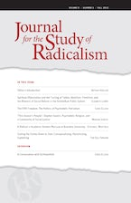 Journal for the Study of Radicalism 9, no. 2