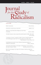 Journal for the Study of Radicalism 10, no. 2