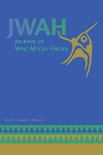 Journal of West African History 3, no. 1