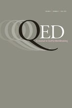 QED: A Journal in GLBTQ Worldmaking 2, no. 3