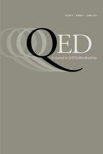 QED: A Journal in GLBTQ Worldmaking 3, no. 1