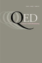 QED: A Journal in GLBTQ Worldmaking 3, no. 2