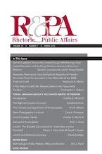 Rhetoric & Public Affairs 18, no. 1