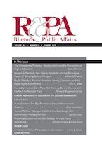 Rhetoric & Public Affairs 18, no. 2