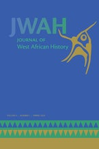 Journal of West African History 4, no. 1