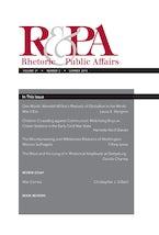Rhetoric & Public Affairs 21, no. 2