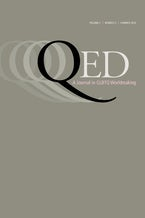 QED: A Journal in GLBTQ Worldmaking 5, no. 2