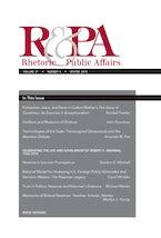 Rhetoric & Public Affairs 21, no. 4