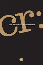 CR: The New Centennial Review 19, no. 1