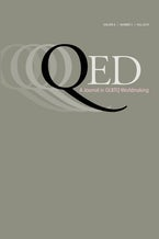 QED: A Journal in GLBTQ Worldmaking 6, no. 3