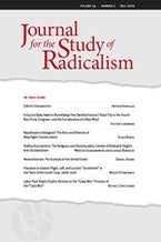 Journal for the Study of Radicalism 14, no. 2