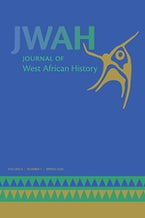 Journal of West African History 6, no. 1