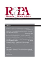 Rhetoric & Public Affairs 23, no. 2